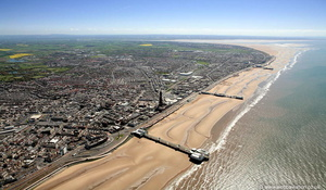 Blackpool Lancashire from the air