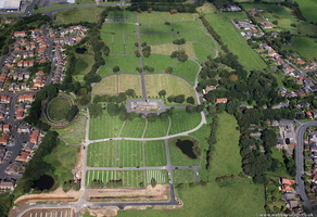 Carleton Crematorium and Cemetery from the air