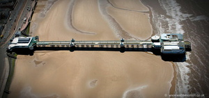 North Pier, Blackpool  from the air