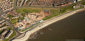 Anchorsholme Park Redevelopment Blackpool  aerial photograph