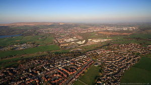 Blackrod Greater Manchester  from the air
