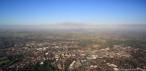 Bolton panorama Bolton from the air