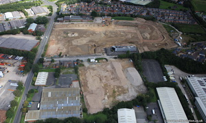 Hercules Business Park redevelopment   Lostock Lane from the air
