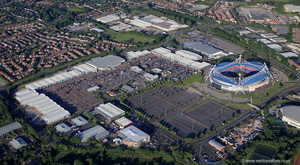 Middlebrook Retail Park, Horwich, Bolton from the air