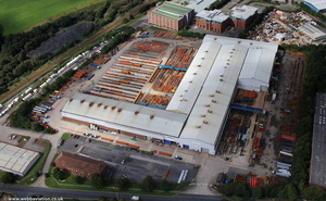 Severfield (UK) Ltd, Lostock site  from the air