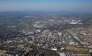 Burnley aerial photograph
