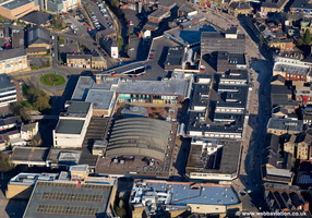 Charter Walk Shopping Centre aerial photograph