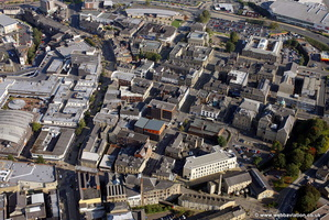 Hargreaves St & Vicinity Burnley aerial photograph