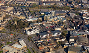 Kingsway & Vicinity Burnley  aerial photograph