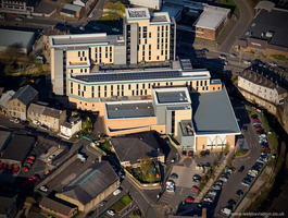 St Peter's Primary Health Care Centre Burnley  aerial photograph