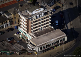 The Keirby Park Hotel, Burnley aerial photograph