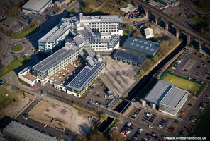 University of Central Lancashire, Burnley Campus aerial photograph