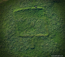 Twist Castle  Romano-British Farmstead  aerial photograph