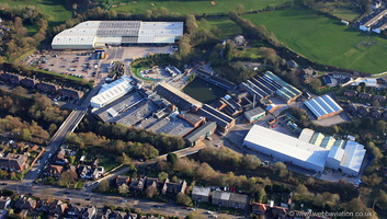 Polyflor Factory Radcliffe New Road from the air