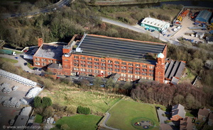 Cowling Mill Chorley  from the air