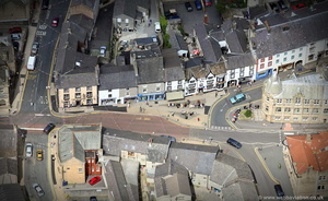 Castle St Clitheroe from the air