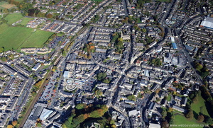 Clitheroe from the air