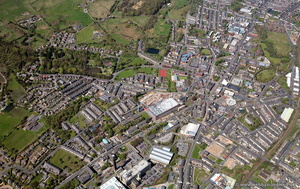 Darwen Lancs from the air