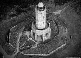 Darwen Tower, Darwen Lancs from the air