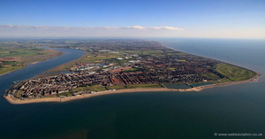 Fleetwood Lancashire from the air