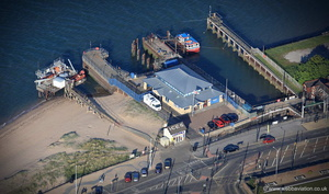 Fleetwood lifeboat station from the air