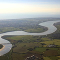 River Wyre from the air