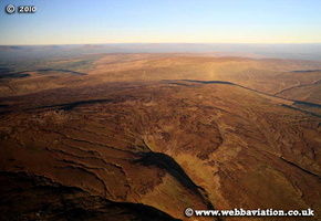 Forest of Bowland Lancashire  aerial photograph