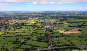 Broughton Lancashire   from the air
