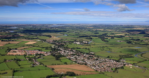 Great Eccleston Lancashire from the air