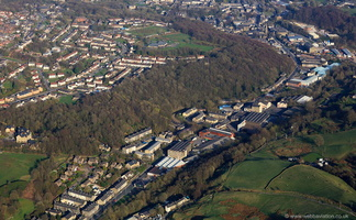 Waterfoot Rossendale  Lancashire from the air