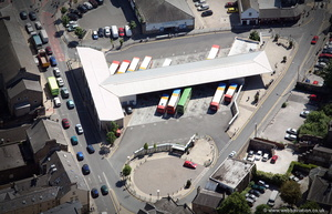 Lancaster Bus Station from the air