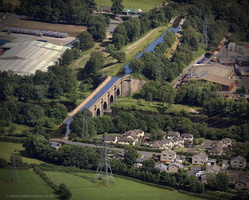 Lune Aqueduct, Lancaster from the air