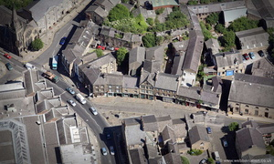 Moor Lane , Lancaster,  from the air