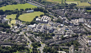 Royal Lancaster Infirmary (RLI)  from the air