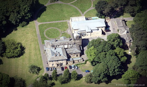 Ryelands House Clinic , Lancaster,  from the air
