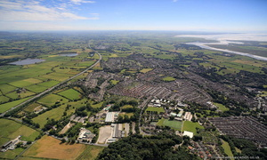 Scotforth Lancaster from the air