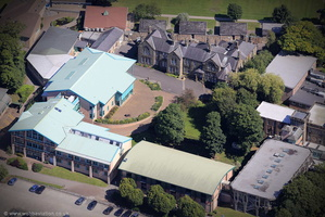University of Cumbria, Lancaster Campus from the air