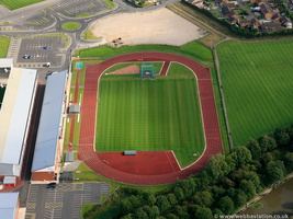 Leigh Sports Village aerial photograph