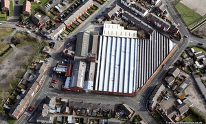Mount Pleasant Mill Leyland from the air