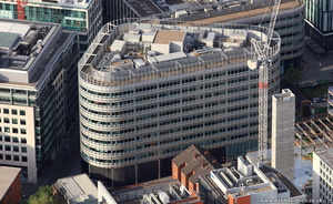 3 Hardman Square, Spinningfields, Manchester M3  from the air