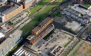 Chips, New Islington, Manchester from the air