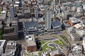 City Tower, Piccadilly Plaza,  Manchester from the air