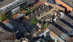 Coronation Street from the air