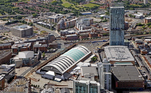 Manchester Central Convention Complex from the air