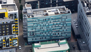 Holiday Inn Express Manchester  from the air