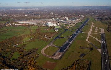 Manchester Airport from the air