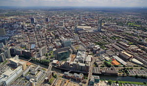 Spinningfields from the air