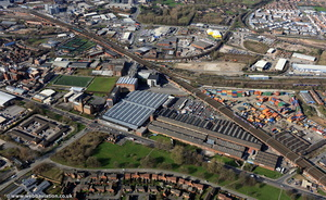 Ardwick  from the air