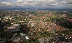 Belle Vue, Manchester  from the air