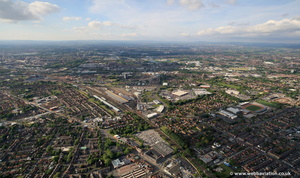 Longsight Manchester  from the air